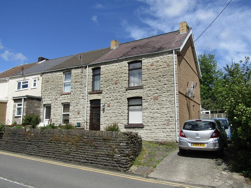 3 Bedrooms End Of Terrace House for sale in Vardre Road, Clydach, Swansea.
