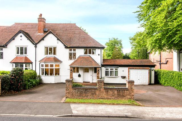 4 Bedrooms Semi Detached House for sale in Hardwick Road,Streetly,Sutton Coldfield