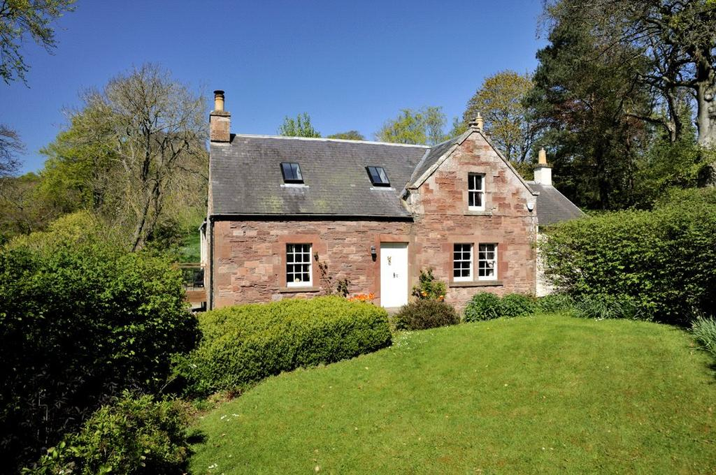 3 Bedrooms Detached House for sale in Newmains Cottage, Dryburgh, Melrose, Scottish Borders