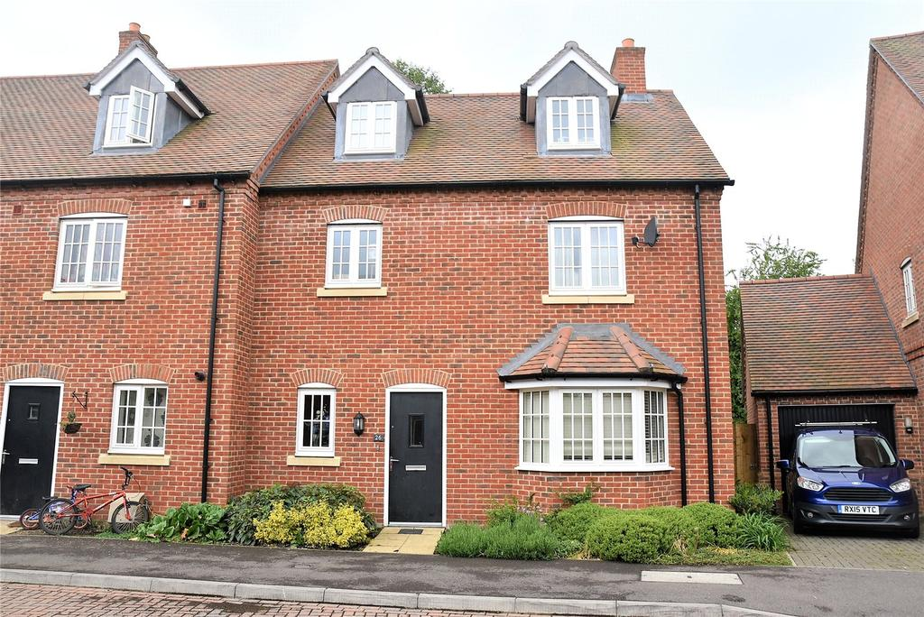 4 Bedrooms End Of Terrace House for sale in Maida's Way, Aldermaston, Reading, Berkshire, RG7