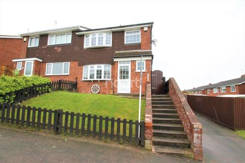 3 bedroom semi-detached house for sale - Green Walk, Western Park, Leicester