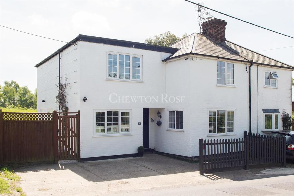 4 Bedrooms Semi Detached House for sale in Flimwell, Wadhurst, East Sussex TN5
