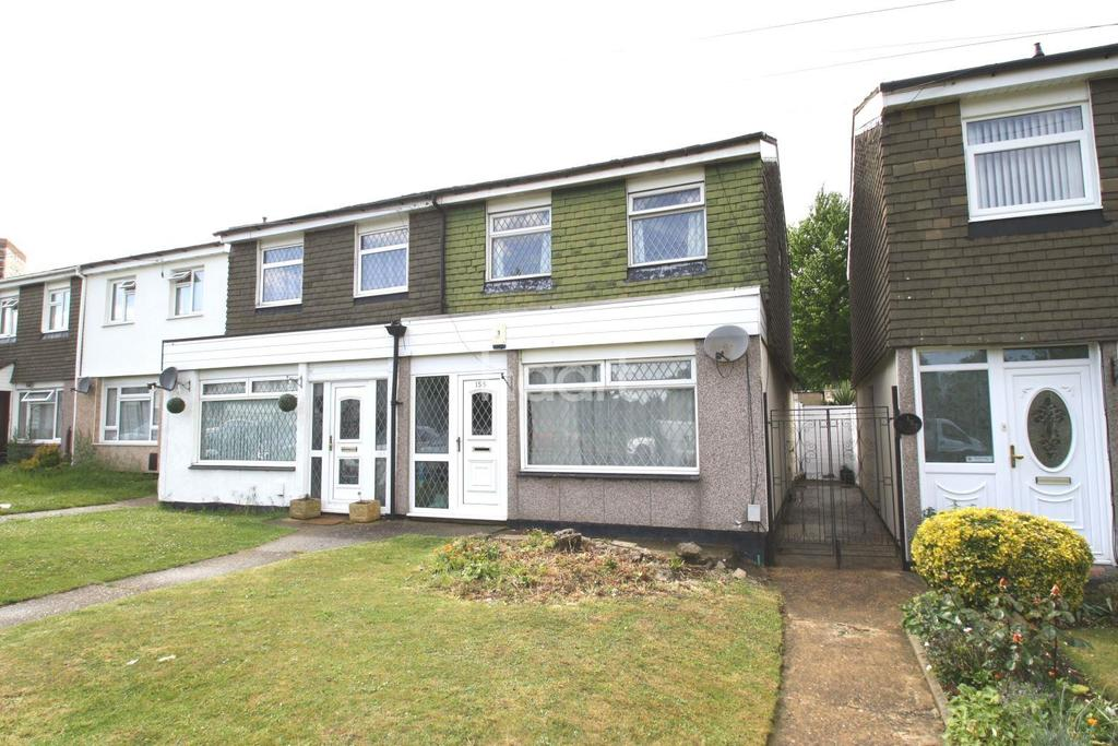 3 Bedrooms Semi Detached House for sale in Hockwell Ring, Luton