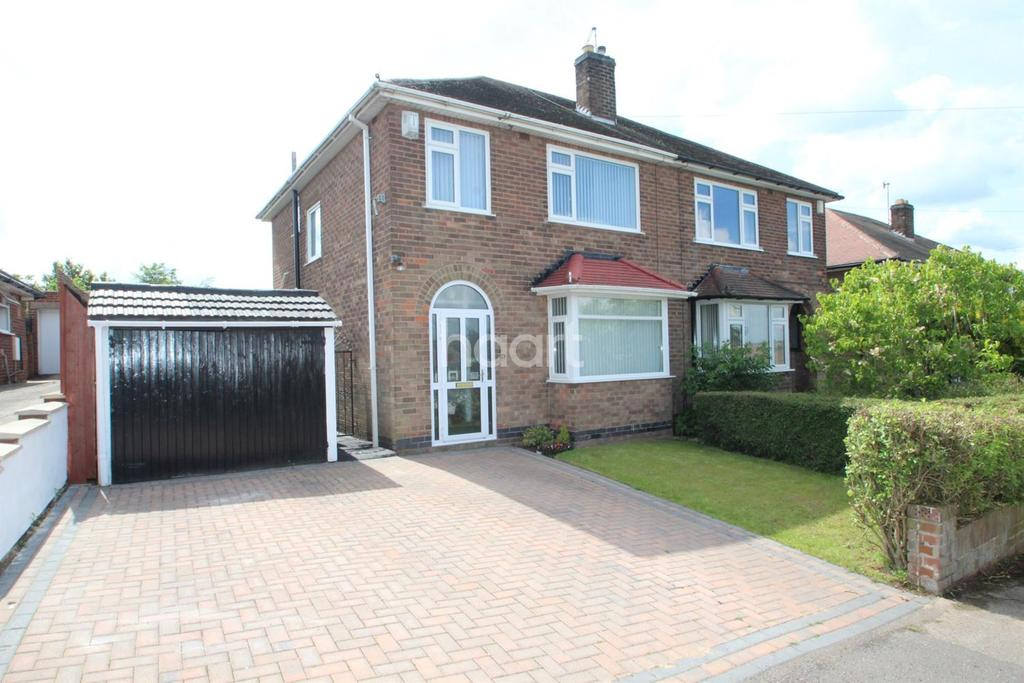 3 Bedrooms Semi Detached House for sale in Eaton Avenue, Arnold, Nottingham