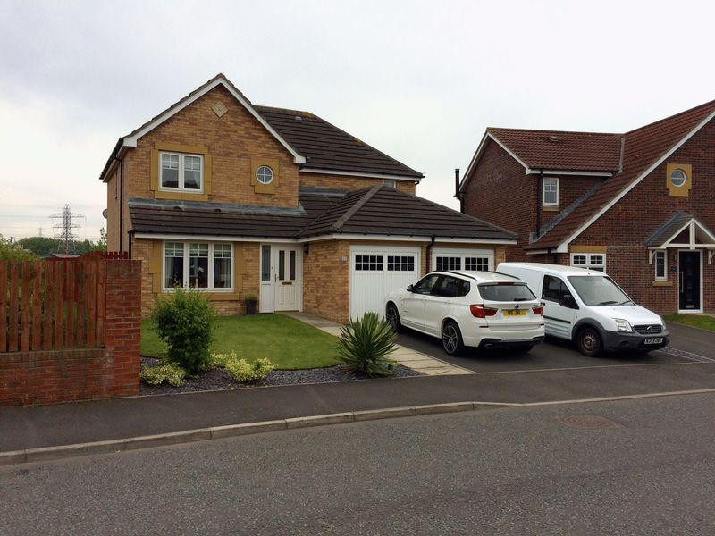 4 Bedrooms Detached House for sale in Forest Gate, Palmersville, Newcastle Upon Tyne