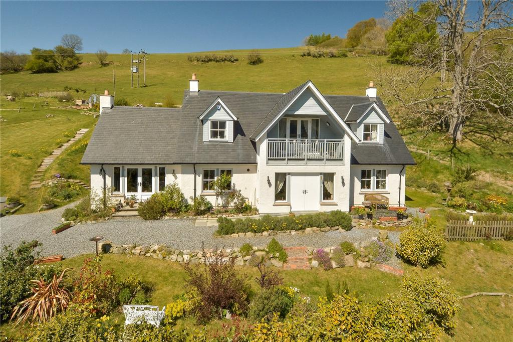 4 Bedrooms Detached House for sale in Gannochy Lodge, Loch Tummel, Strathtummel, Pitlochry, PH16