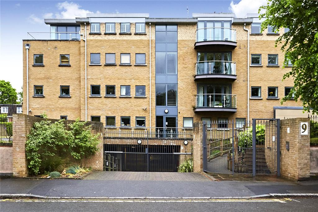2 Bedrooms Penthouse Flat for sale in Lanherne House, 9 The Downs, Wimbledon, London, SW20