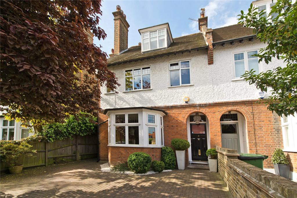 6 Bedrooms Semi Detached House for sale in Courthope Road, Wimbledon, London, SW19