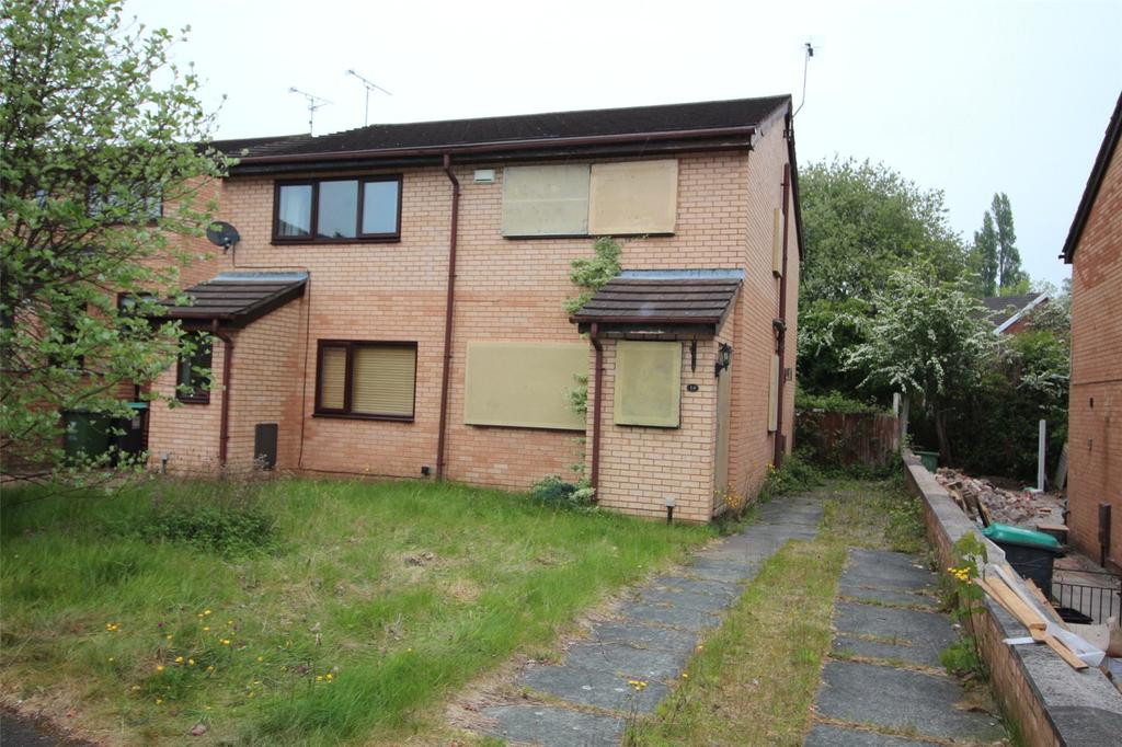 2 Bedrooms Semi Detached House for sale in Saxon Road, Gwersyllt, Wrexham, North Wales, LL11