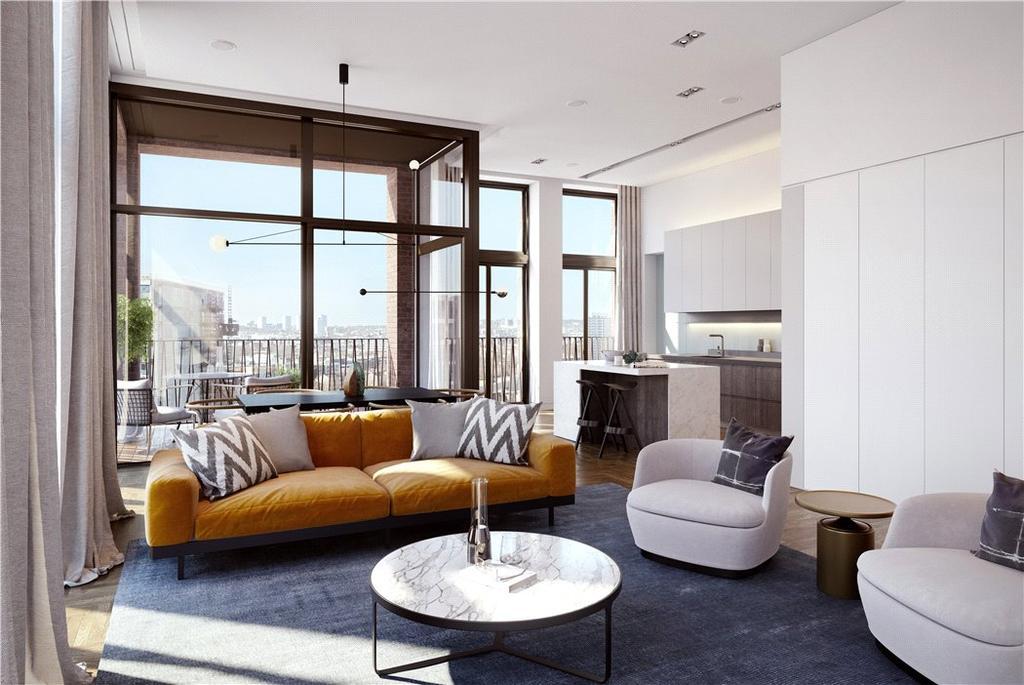 2 Bedrooms Flat for sale in Fenman House, 5 Lewis Cubitt Walk, London, N1C