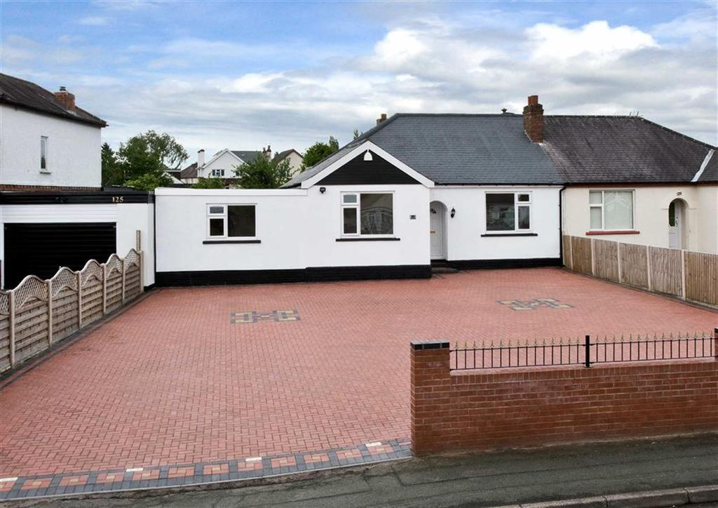 4 Bedrooms Semi Detached Bungalow for sale in 127, Trysull Road, Merry Hill, Wolverhampton, West Midlands, WV3