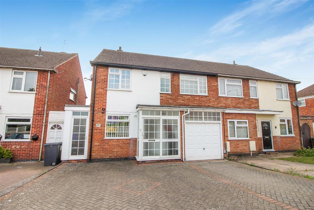 4 Bedrooms Semi Detached House for sale in Coppice Road, Whitnash, Leamington Spa