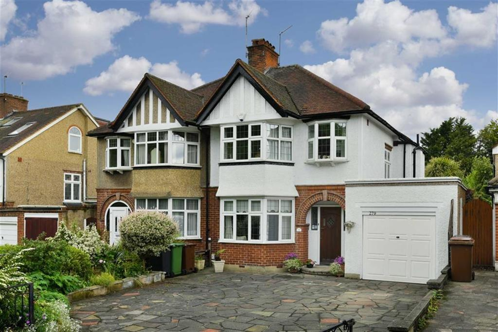 3 Bedrooms Semi Detached House for sale in London Road, Epsom, Surrey