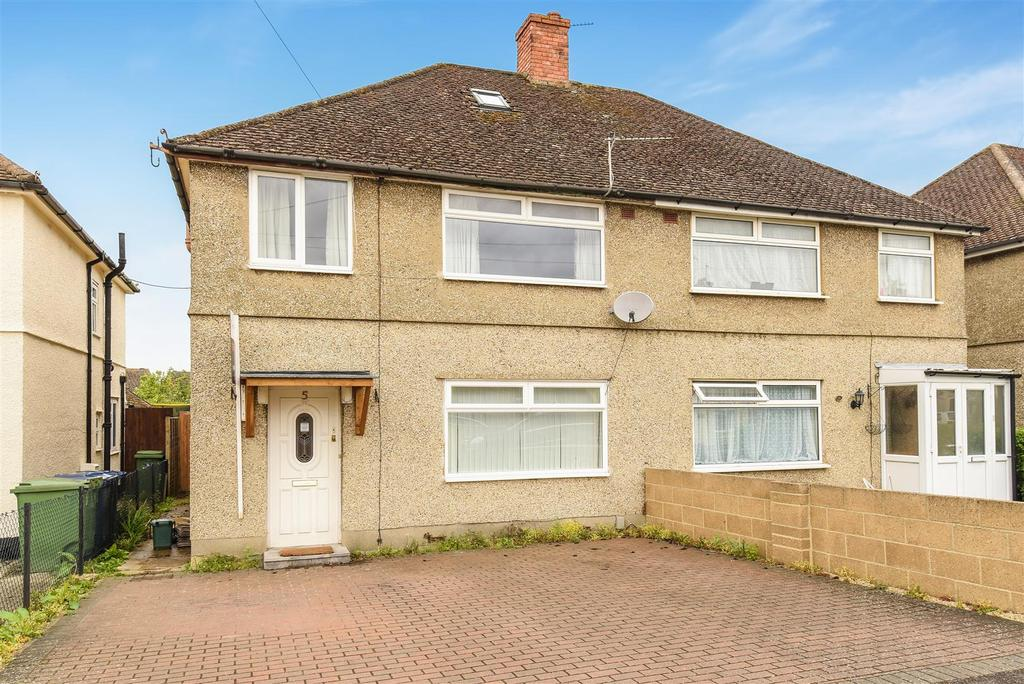 3 Bedrooms Semi Detached House for sale in Weldon Road, Marston, Oxford