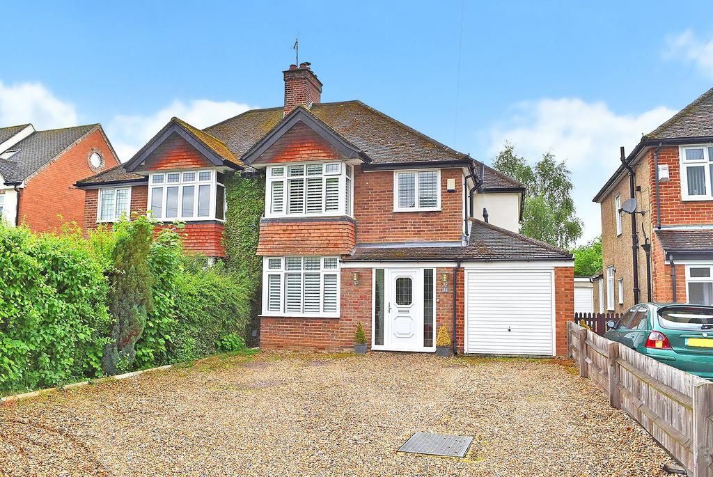4 Bedrooms Semi Detached House for sale in Stoke Road, Linslade
