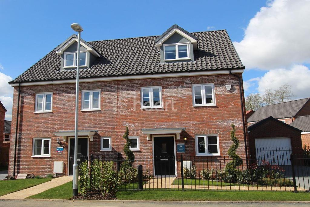 3 Bedrooms Semi Detached House for sale in Saxon Fields, Blofield