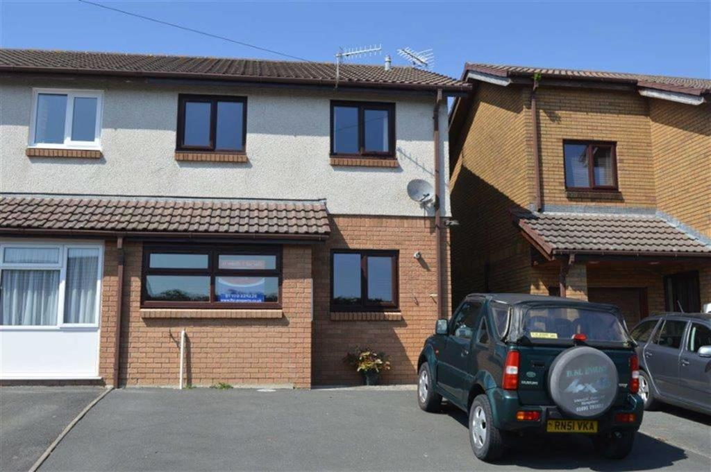 3 Bedrooms Semi Detached House for sale in 42, Bryncastell, Bow Street, Aberystwyth, Ceredigion, SY24