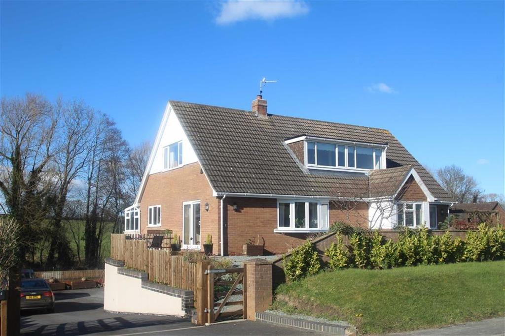 5 Bedrooms Detached House for sale in Plox Green Road, Near Minsterley, Shrewsbury