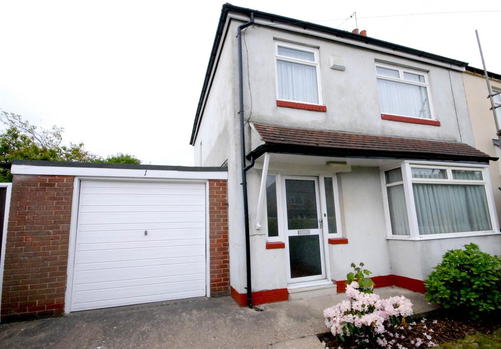 3 Bedrooms Semi Detached House for sale in Willowfield Avenue, Gosforth