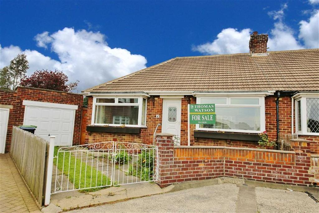 2 Bedrooms Semi Detached Bungalow for sale in Corry Court, High Barnes, Sunderland, SR4