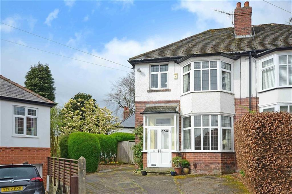 3 Bedrooms Semi Detached House for sale in 16, Whirlow Grove, Whirlow, Sheffield, S11