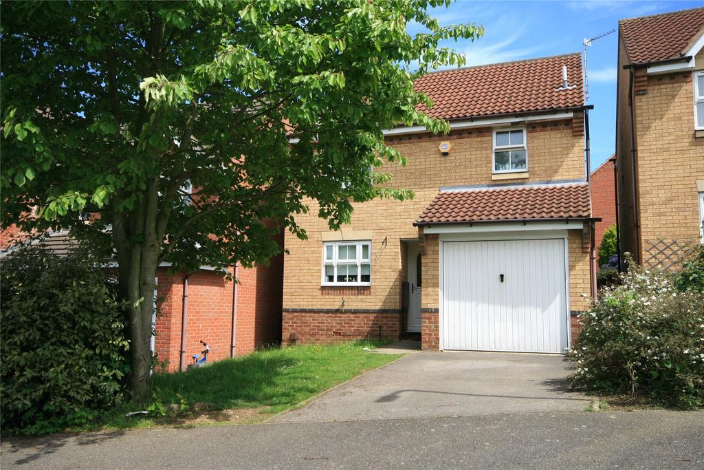3 Bedrooms Detached House for sale in Portrush Drive, Grantham, NG31