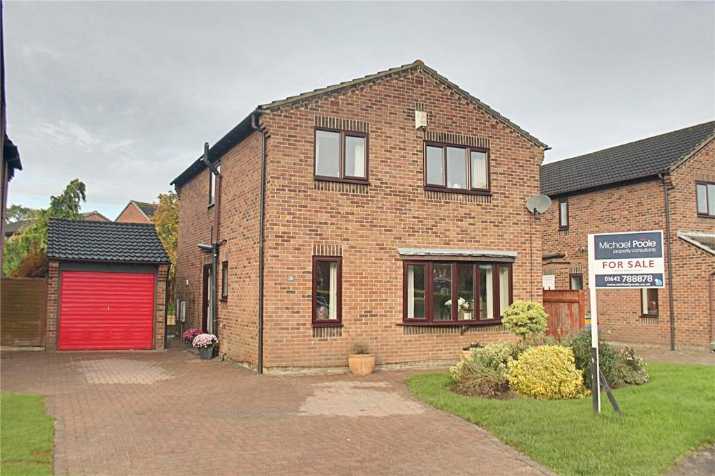 4 Bedrooms Detached House for sale in Miller Close, Yarm