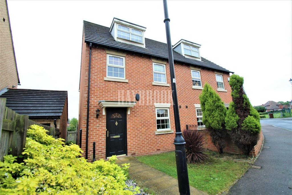 3 Bedrooms Semi Detached House for sale in Hawthorne Drive, Bolton upon Dearne