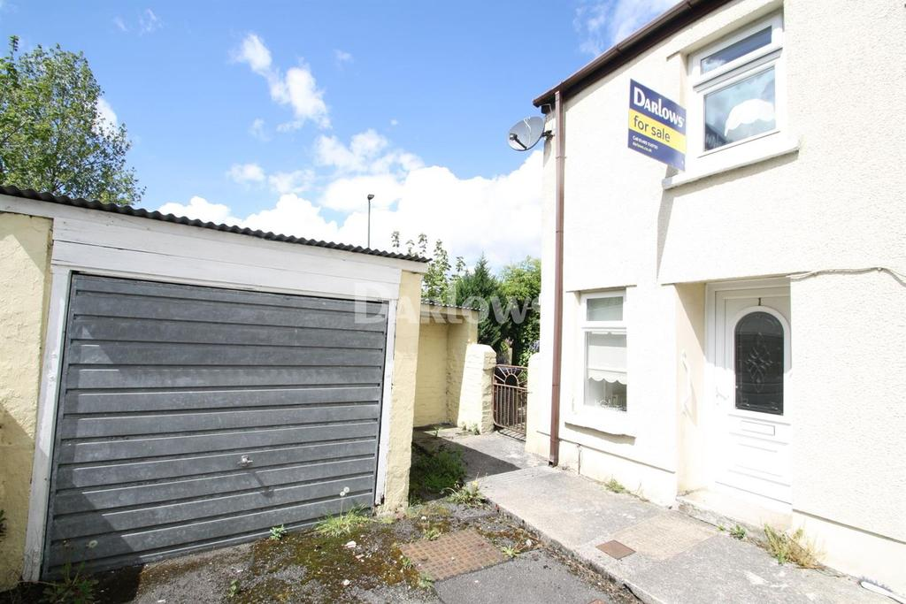 2 Bedrooms End Of Terrace House for sale in Station Road, Nantybwch, Tredegar, Gwent
