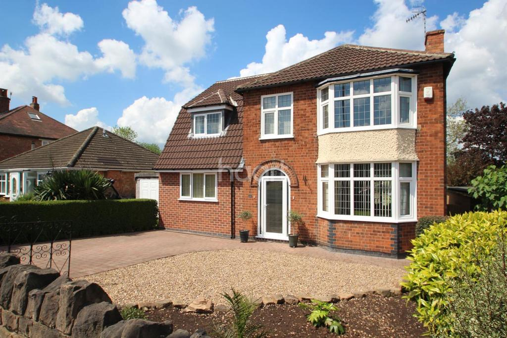 4 Bedrooms Detached House for sale in Rolleston Drive, Arnold, Nottingham