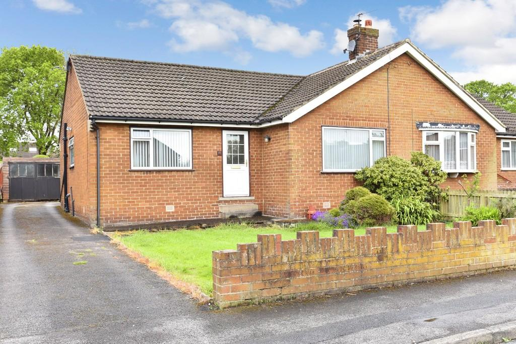 3 Bedrooms Semi Detached Bungalow for sale in Olive Way, Harrogate