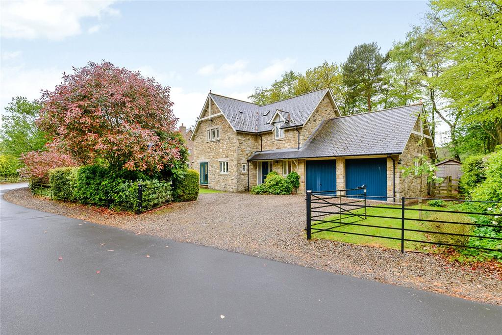 4 Bedrooms Detached House for sale in Bainbridge Lane, Eshott, Morpeth, Northumberland