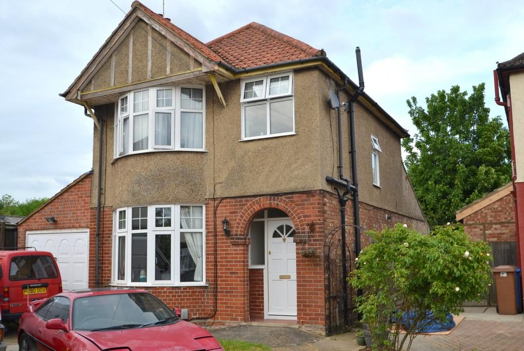 3 Bedrooms Detached House for sale in Brookfield Road, Ipswich, Suffolk, IP1 4EN