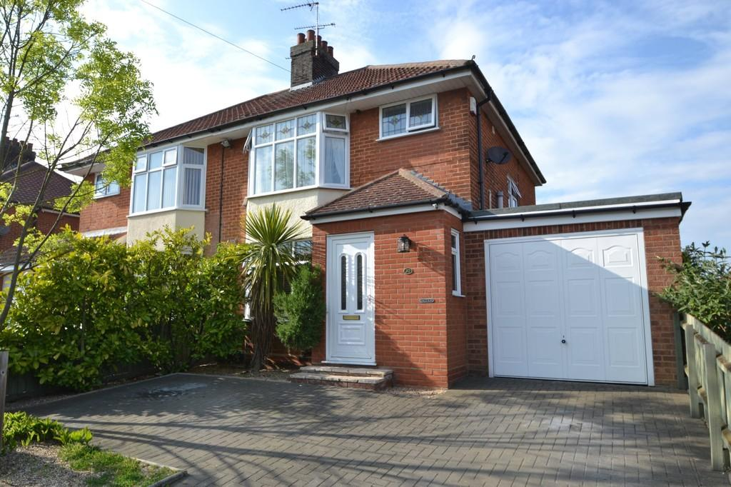 3 Bedrooms Semi Detached House for sale in Medway Road, Ipswich, Suffolk