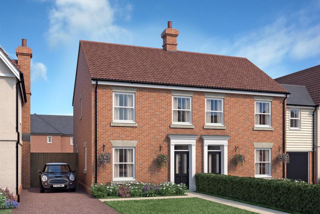 3 Bedrooms Semi Detached House for sale in Summers Park, Lawford