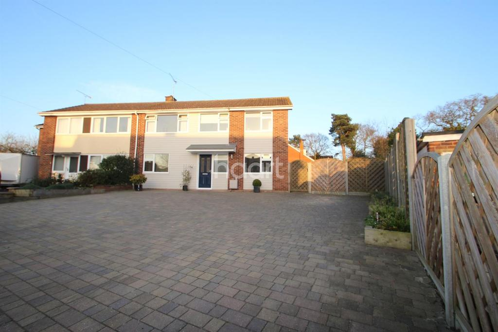 4 Bedrooms Semi Detached House for sale in Ipswich