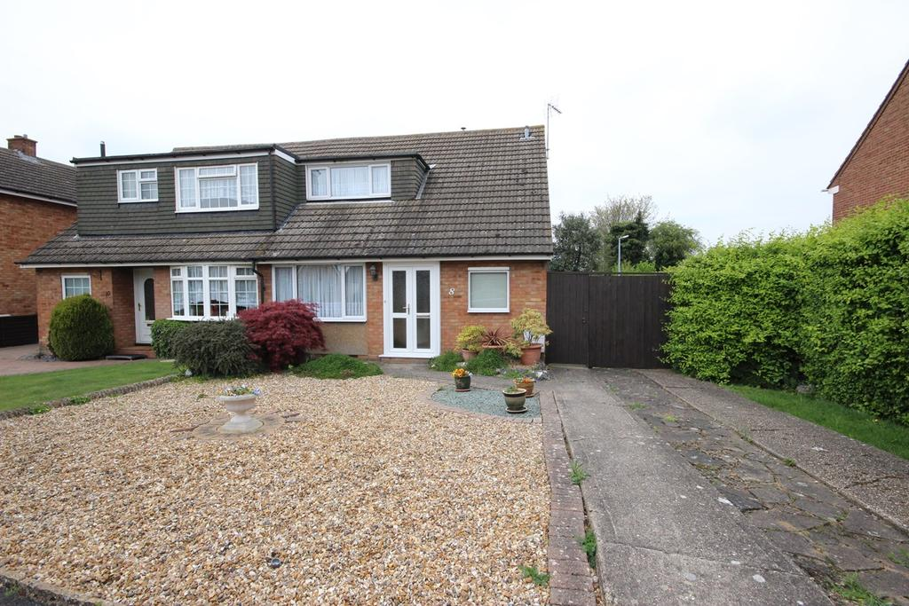 2 Bedrooms Semi Detached House for sale in Chiltern Road, Barton Le Clay, MK45