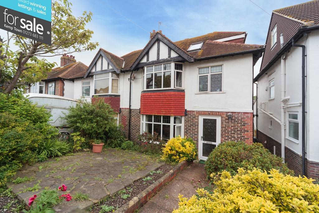 4 Bedrooms Semi Detached House for sale in Reading Road, Brighton, BN2