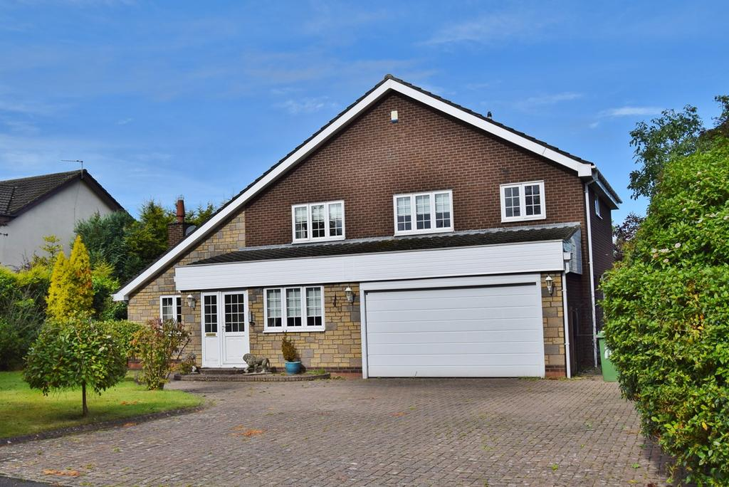 4 Bedrooms Detached House for sale in Collingwood Crescent, Darras Hall, Ponteland, Newcastle upon Tyne, NE20