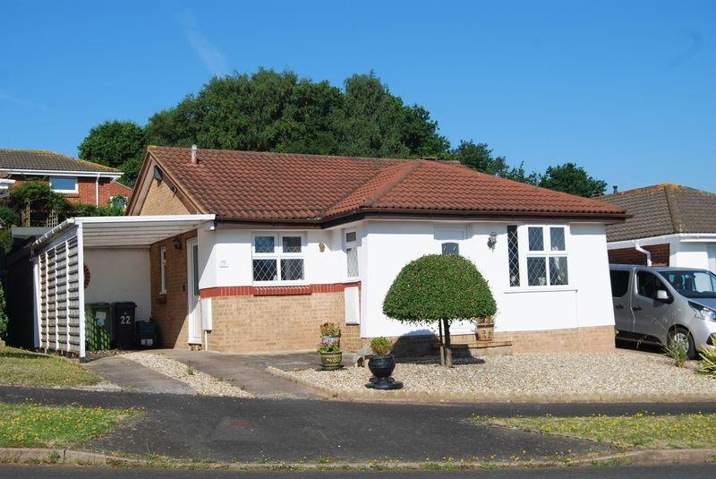 2 Bedrooms Detached Bungalow for sale in Gilpin Close, Dawlish