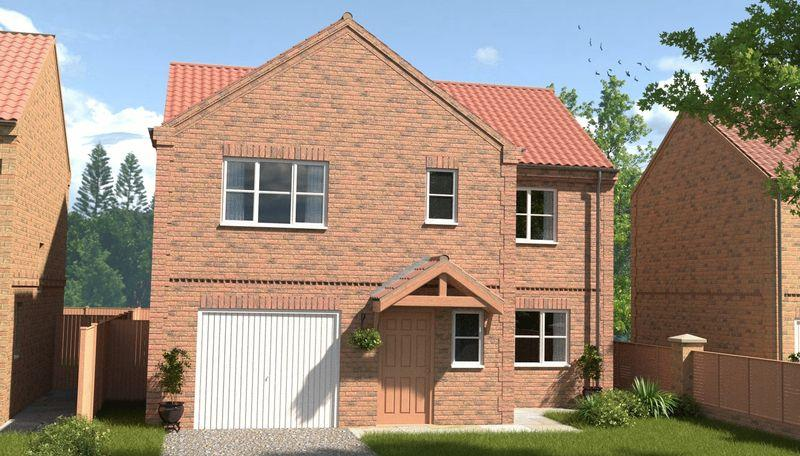 4 Bedrooms Detached House for sale in Plot 36, Franklin Way, Barrow-Upon-Humber, DN19 7BJ