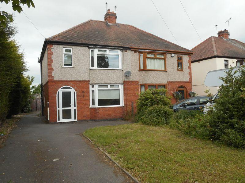 3 Bedrooms Semi Detached House for sale in Weddington Road, Nuneaton