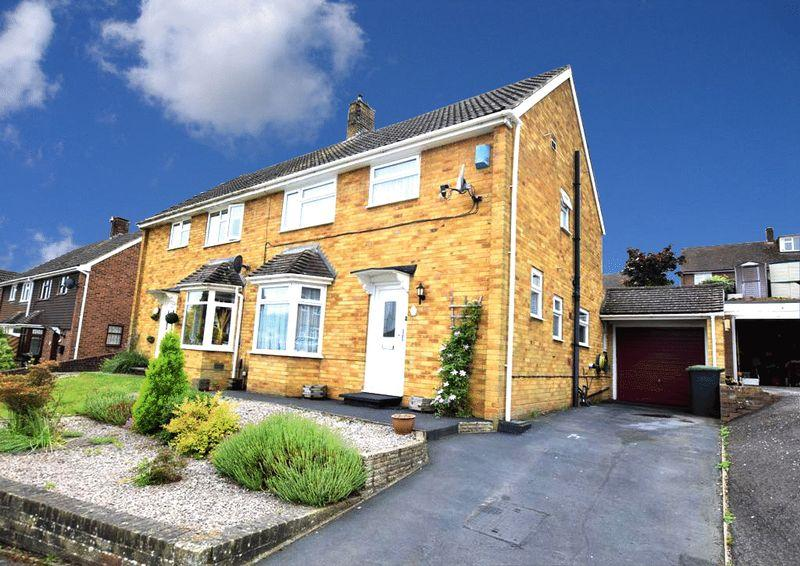 3 Bedrooms Semi Detached House for sale in The Ferns, Larkfield, Aylesford