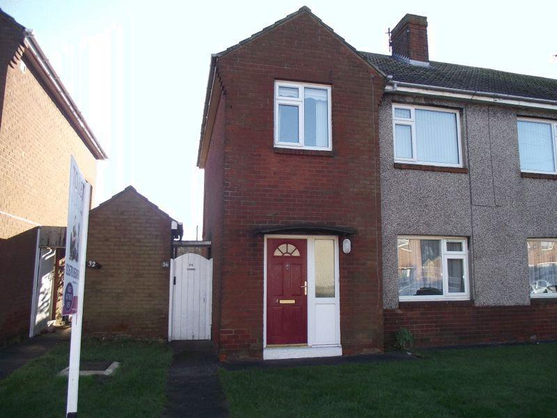 2 Bedrooms Flat for sale in Elsdon Drive, Ashington, Two Bedroom First Floor Flat