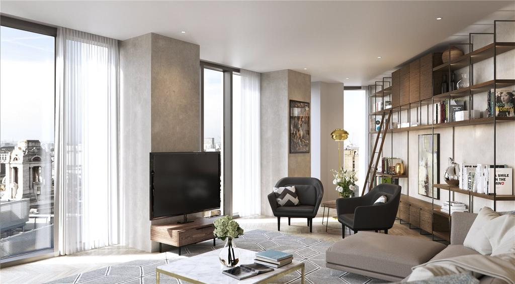 1 Bedroom Flat for sale in Hexagon Apartments, Parker Street, Covent Garden, London, WC2B