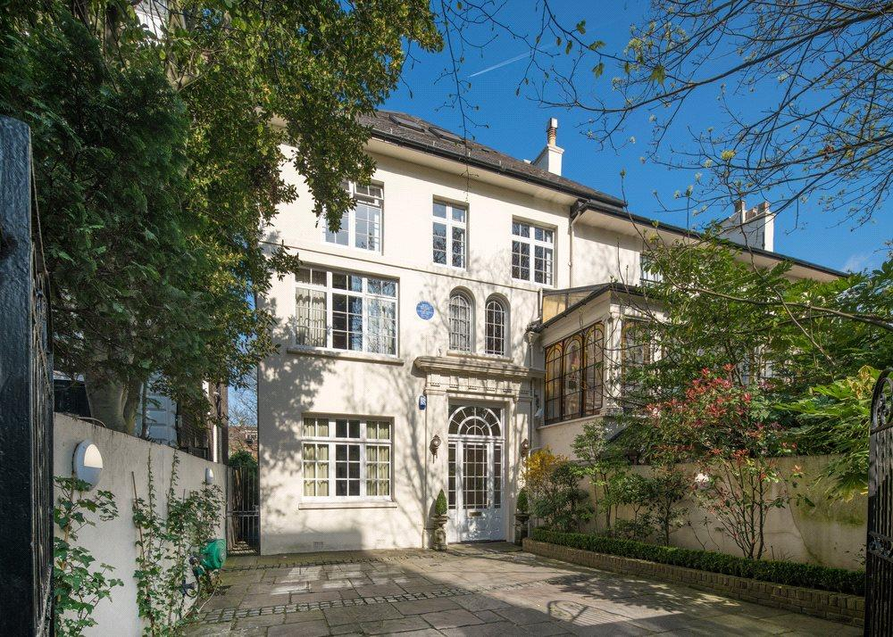 5 Bedrooms Semi Detached House for sale in Langford Place, St John's Wood, London, NW8