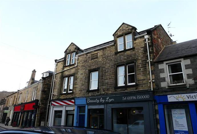 3 Bedrooms Flat for sale in 78 High Street, Galashiels, TD1 1SQ