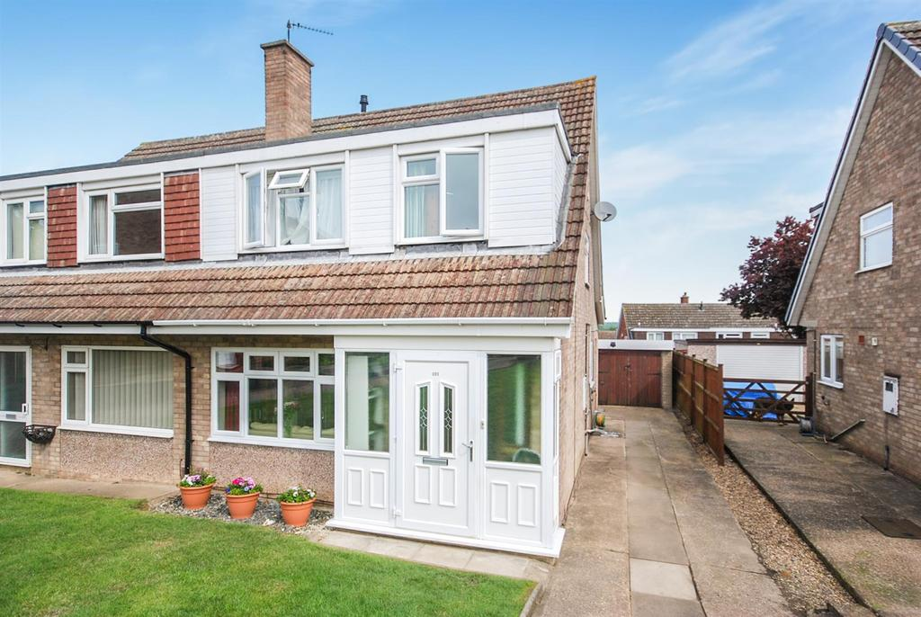3 Bedrooms Semi Detached House for sale in Grange Drive, Melton Mowbray