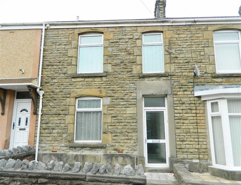3 Bedrooms Terraced House for sale in Middle Road, Cwmdu