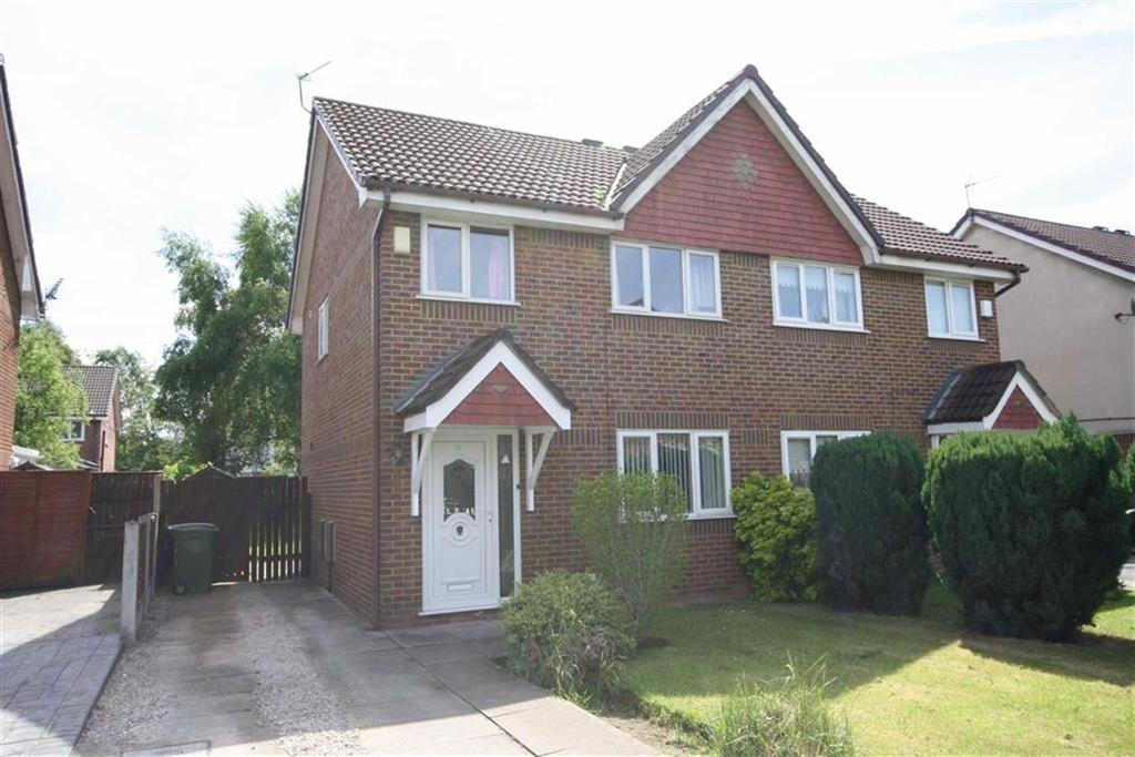 3 Bedrooms Semi Detached House for sale in Allgreave Close, Sale